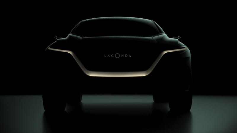 Illustration for article titled Aston Martin Lagonda's All-Electric SUV Won't Be the First, But Might Be the Most Luxurious