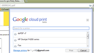 Illustration for article titled Chrome Cloud Print Extension Brings Print-at-Home Powers to Mac and Linux