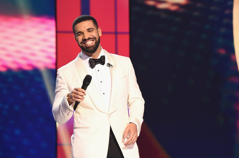 Drake speaks on stage during the 2017 NBA Awards Live On TNT on June 26, 2017 in New York City.