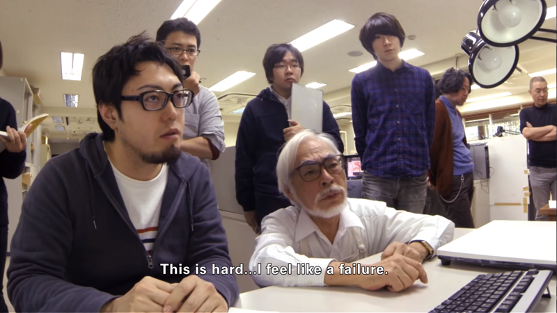 Miyazaki faces a whole different kind of challenge in the first trailer for Never-Ending Man.