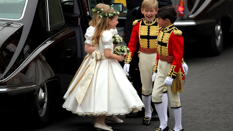 Examples from the 2011 wedding of Will and Kate.