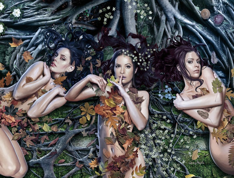 Illustration for article titled Charmed Is Back For A 10th Season! (Sort Of)