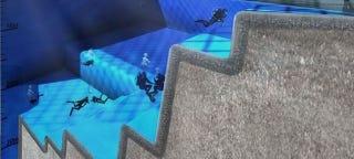 Illustration for article titled La piscina más profunda del mundo: 50 metros al servicio de la ciencia