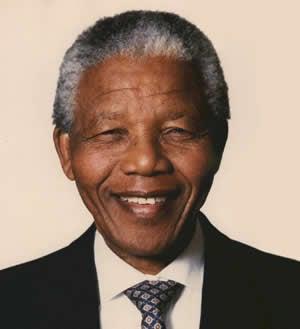 World leader Nelson Mandela