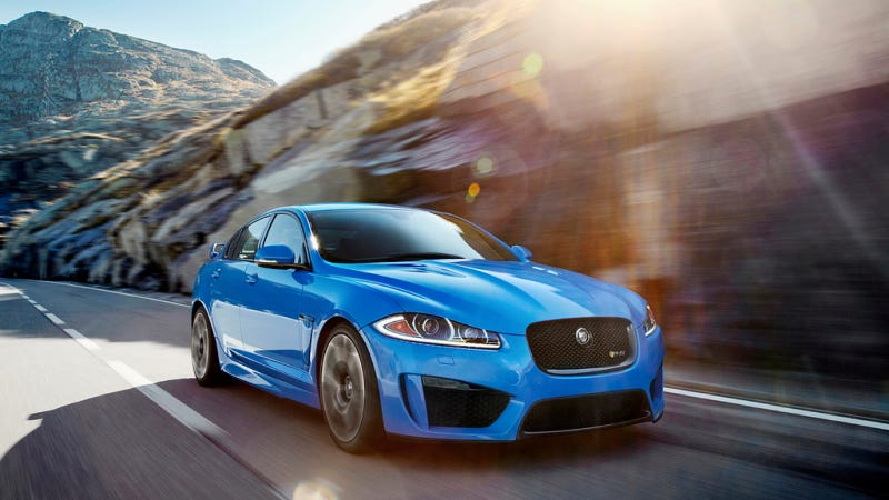 Illustration for article titled The 2014 XFR-S Is The Sinister Jaaaaag Sedan With More Powwerrrr