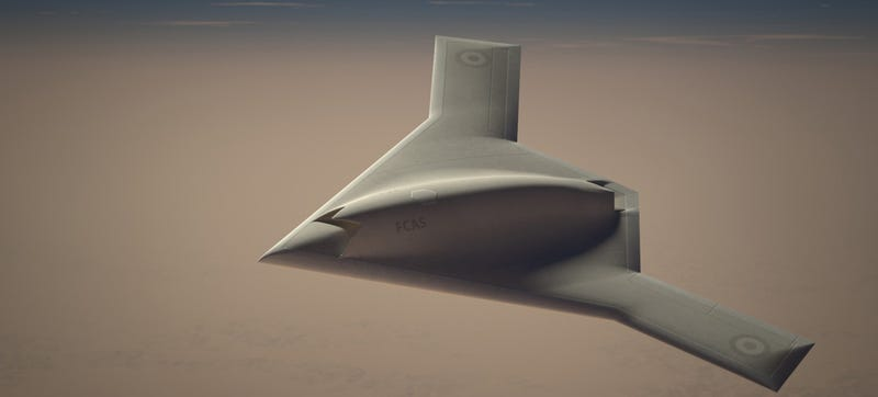 Illustration for article titled France & Britain Team Up For Future Advanced Stealth Combat Drone
