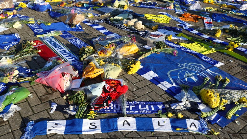 Illustration for article titled Police Confirm That The Body Of Cardiff City Striker Emiliano Sala Has Been Found