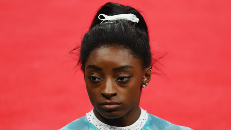 Illustration for article titled Simone Biles Takes New U.S.A. Gymnastics Leader to Task for Anti-Kaepernick Stance