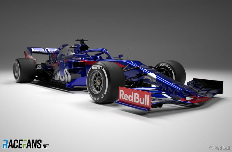 Illustration for article titled Toro Rosso STR14
