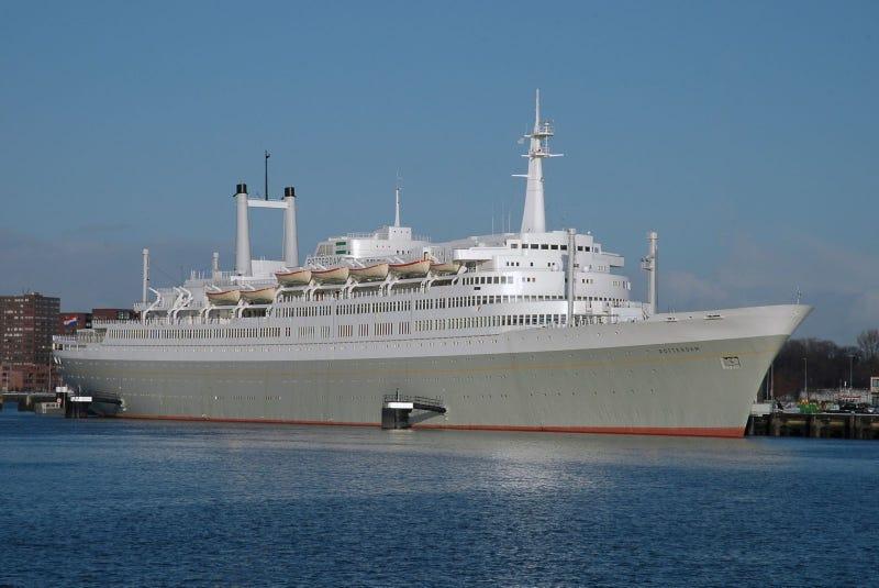 The Last Surviving Transatlantic Ocean Liners - Classic cruise ships for sale