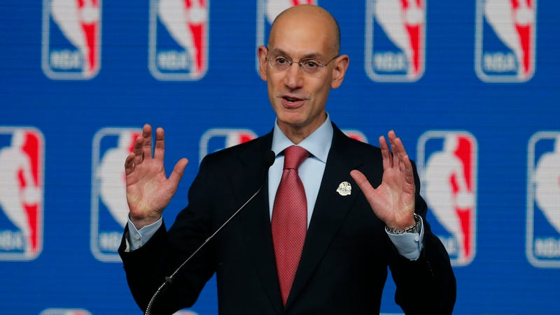 Illustration for article titled Adam Silver Denies That NBA Teams Are Tanking