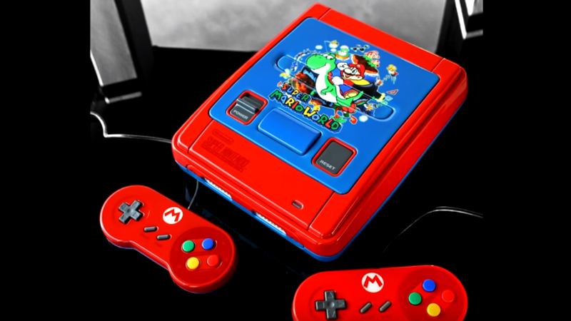 Illustration for article titled Custom Super Mario World SNES Is A Thing Of Beauty