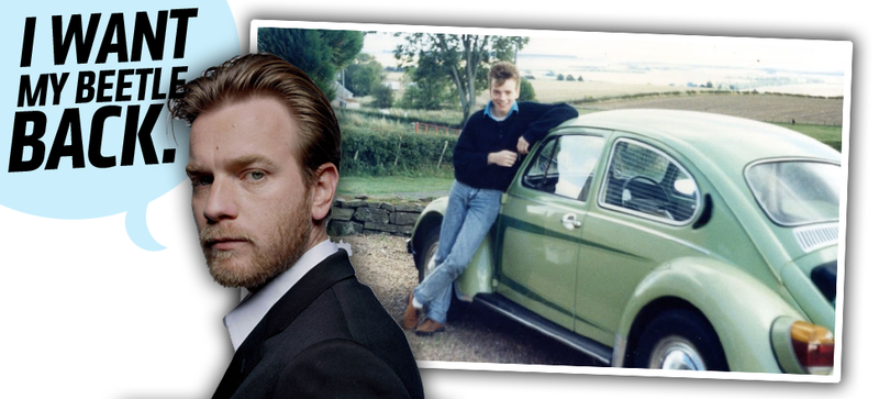 Illustration for article titled Ewan McGregor Wants Help Finding His Old Beetle