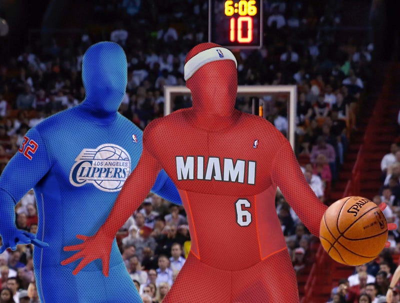 Illustration for article titled NBA Players Unhappy About New Full-Body Jerseys