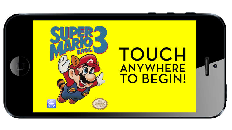 Illustration for article titled The Horror: If Super Mario Bros. 3 Were Made For Smartphones