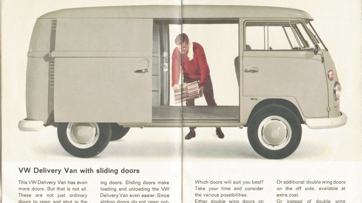 Sliding Doors Went From Cars To Minivans