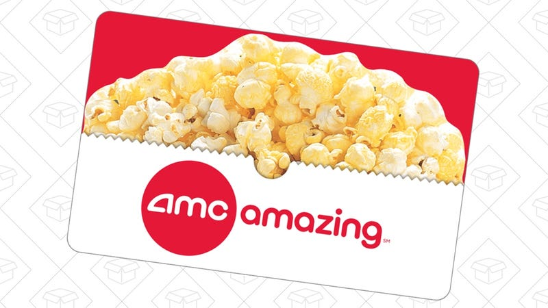 Buy An AMC Theaters Gift Card, Get a Free Popcorn