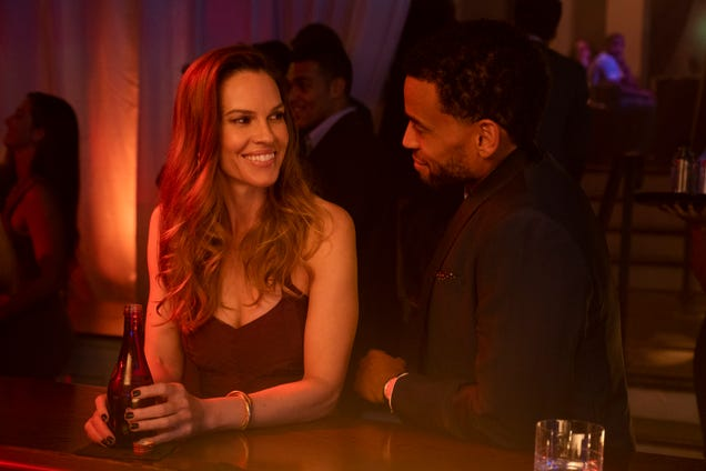Michael Ealy has a fatal attraction to Hilary Swank in the entertainingly dumb noir Fatale