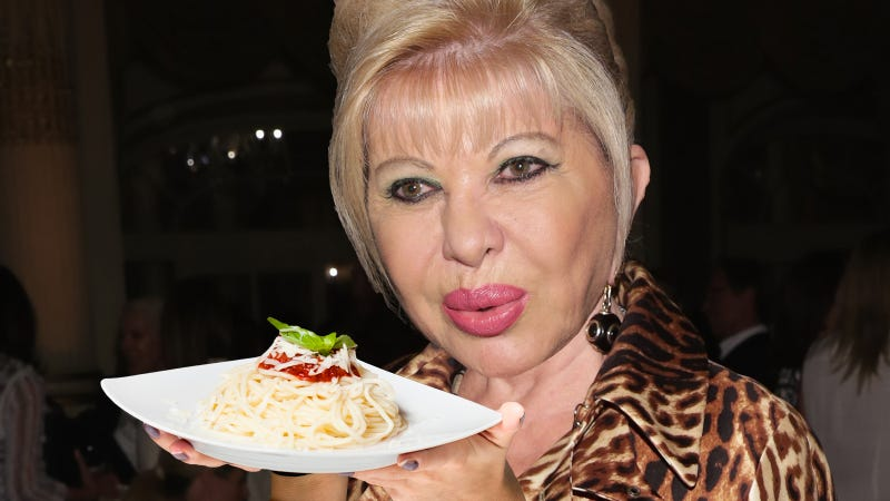 Illustration for article titled Ivana Trump and an Italian Millionaire Would Like to Sell You Diet Pasta