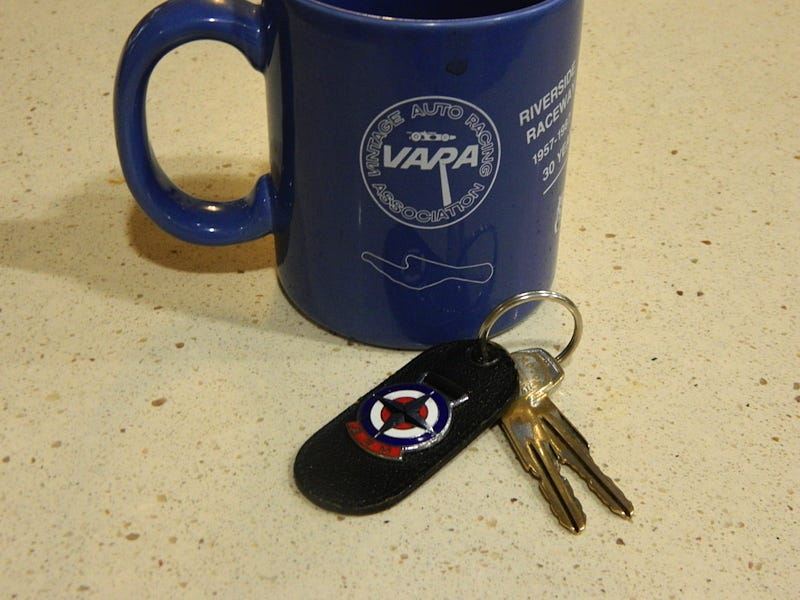 Illustration for article titled Why Yes, Both My Coffee Cup and Key Fob Are Amazing