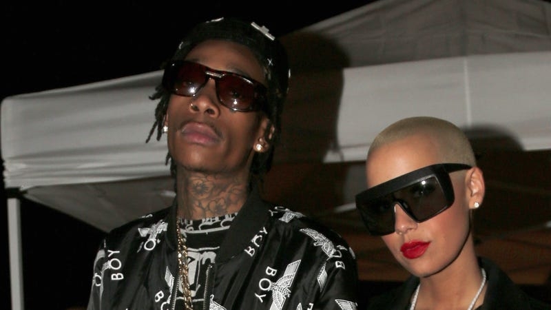 Illustration for article titled FYI Wiz Khalifa Will Be Having Sex with Amber Rose in Cannes This Week