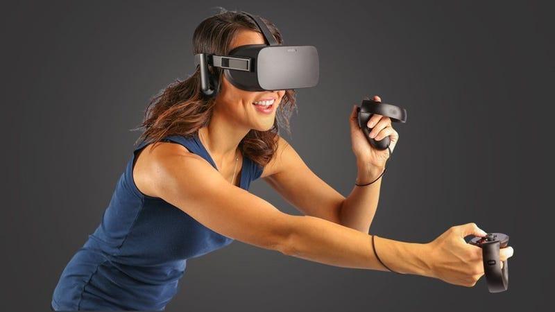 Oculus Rift + Touch Virtual Reality System | $349 | Amazon