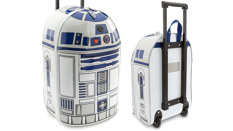Illustration for article titled Finally an R2-D2 Suitcase That Actually Bleeps and Bloops