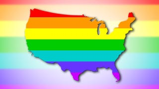 Illustration for article titled You Can Now Marry Your Same-Sex Partner In 30 States