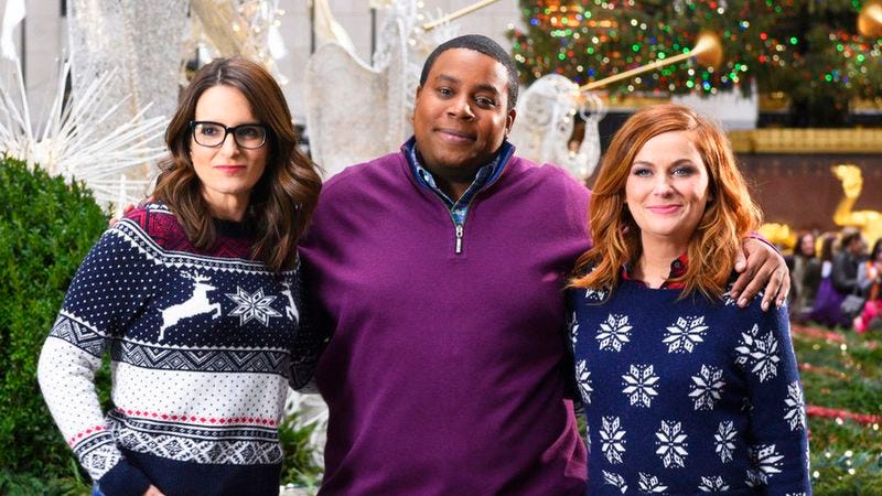 Tina Fey, Kenan Thompson, Amy Poehler (NBC)