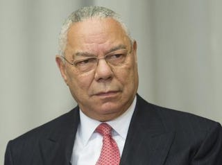 Former Secretary of State Colin Powell in 2014JIM WATSON/AFP/Getty Images