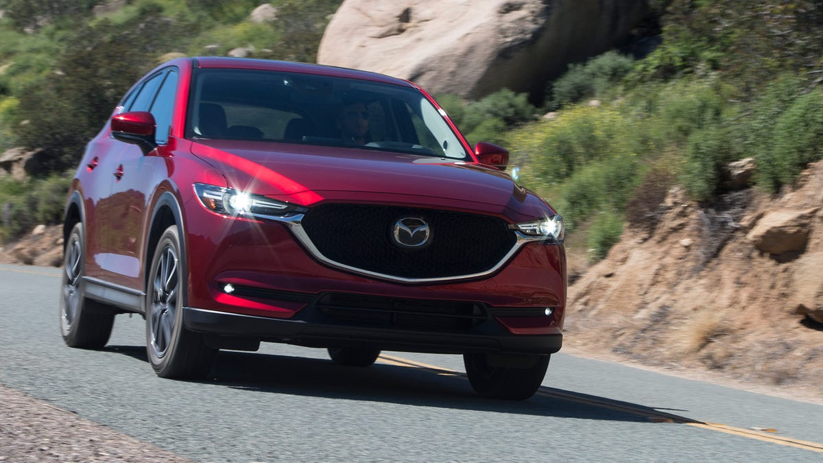 Mazda Mazda6: Driving on Uneven Road