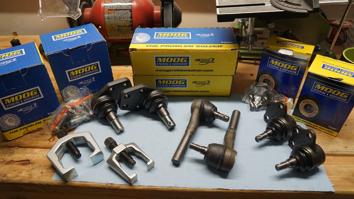 Here's How To Replace The Worst Type Of Ball Joints In The
