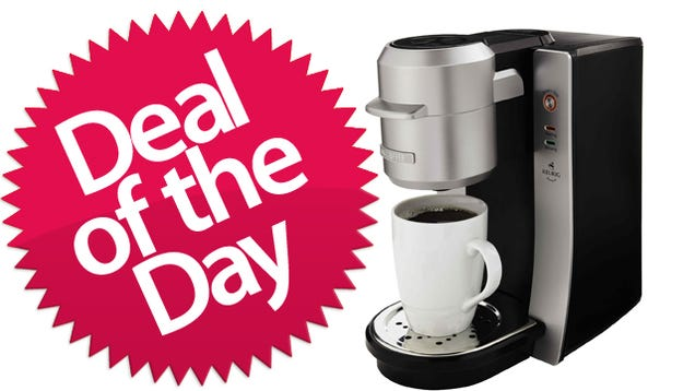 K Cup Coffee Maker Deals : This Mr. Coffee K-Cup Maker Is Your Convenience-Is-King Deal of the Day