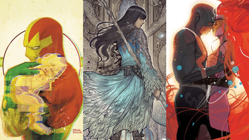 Some very good comics in a sea of excellent Eisner 2018 nominees: Mister Miracle, Monstress, and Black Bolt.