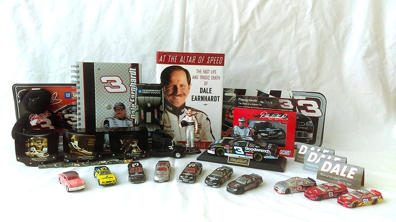 Illustration for article titled Selling my Dale Earnhardt collection