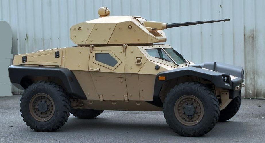 Panhard's Crab May Just Be The Future Of Armored Scout ...