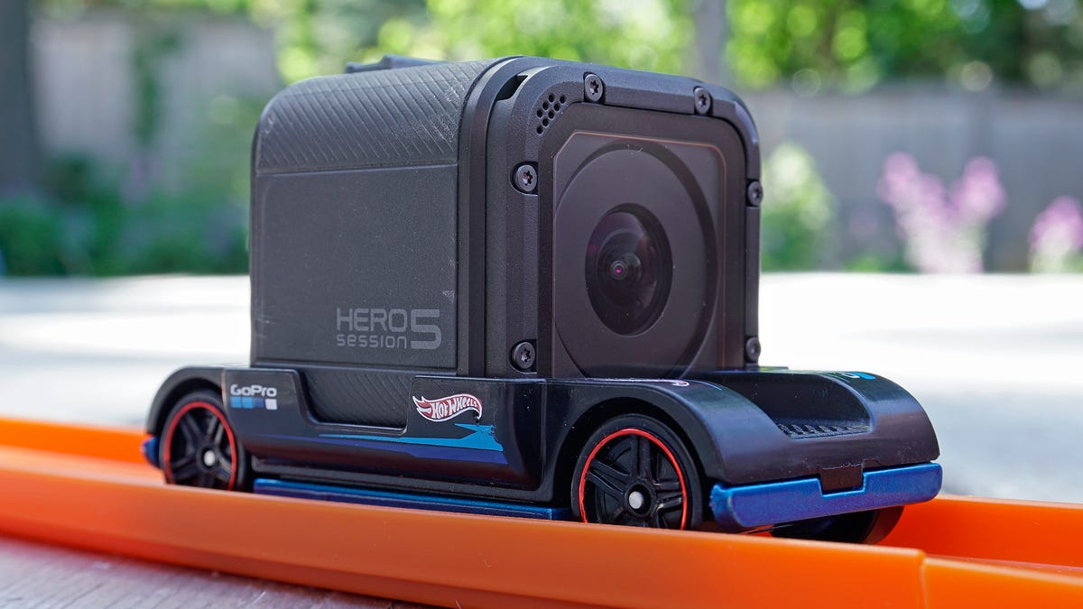 You Can Strap a GoPro to This New Hot Wheels Car and Ride Along on