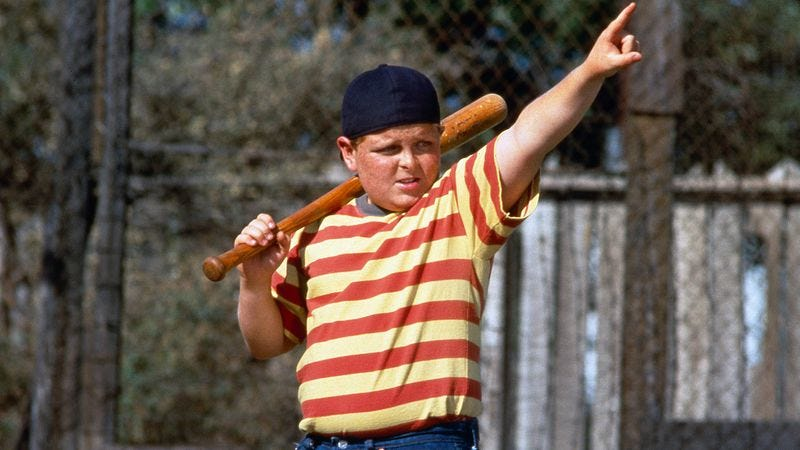 This is actually The Sandlot, but you get the point