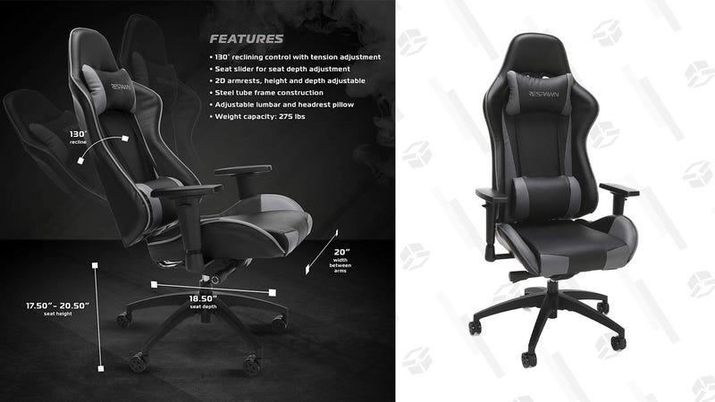 RESPAWN-105 Racing Style Gaming Chair   $133   Amazon   Clip coupon on page
