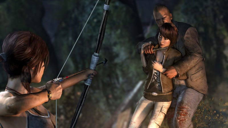 Illustration for article titled Surely There's Some Sort of Controversy Lurking in These New Tomb Raider Screens