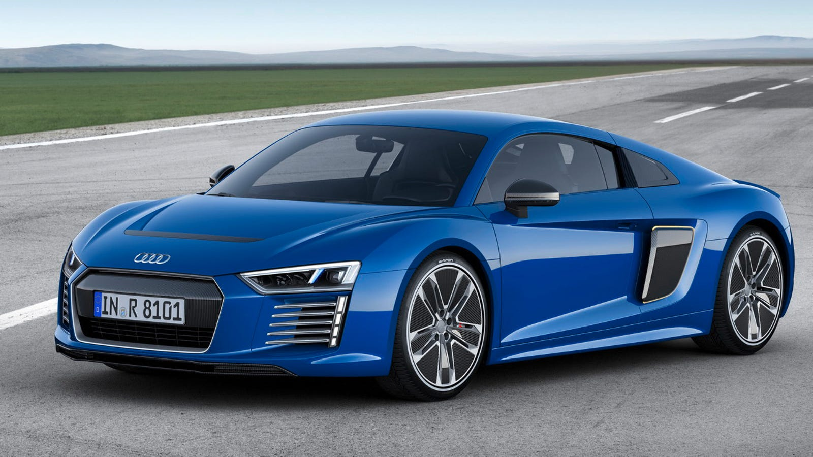 2016 audi r8 e tron this is audi 39 s 456 hp electric supercar future. Black Bedroom Furniture Sets. Home Design Ideas