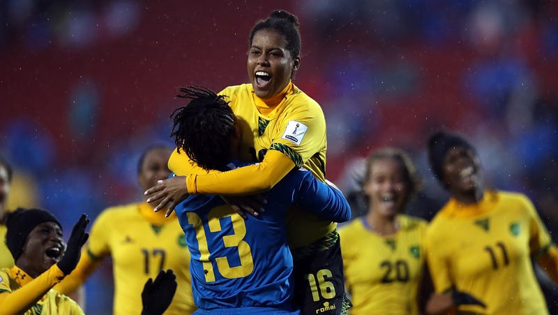Jamaica Earns Country S First Ever Women S World Cup Berth