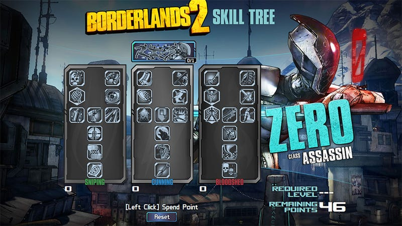 Start Building Your Borderlands 2 Character Right Now