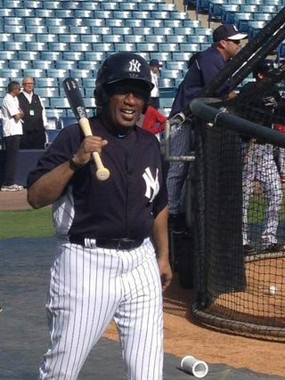 Illustration for article titled Someone Put A Yankees Uniform On Al Roker And Now He Looks Like A Giant Baby