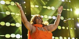 Aretha Franklin (Monica McKlinski/FilmMagic/Getty Images)