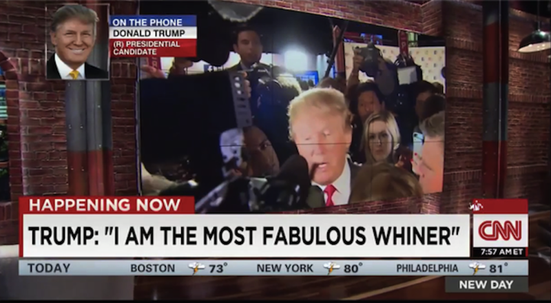 Illustration for article titled Donald Trump Declares Self 'Most Fabulous Whiner'
