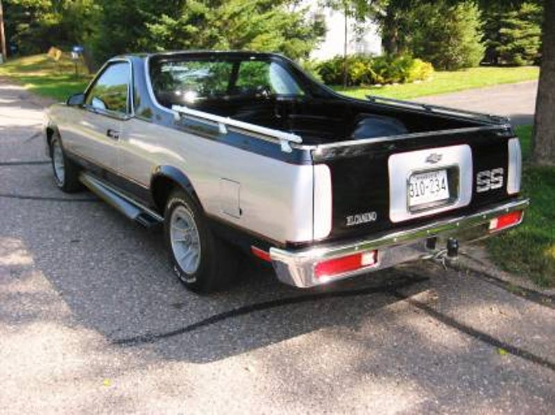 Choochoochoose a 1986 El Camino SS for 14555