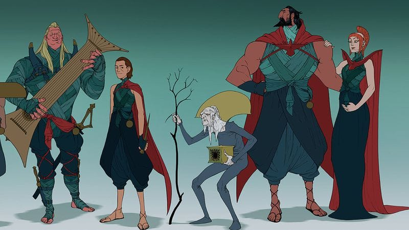 Illustration for article titled The Spice must flow: Dragon Age concept artist redesigns Dune