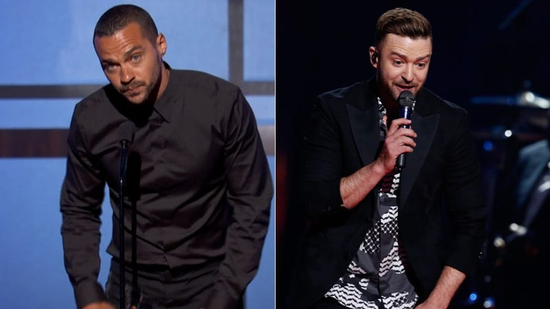 Illustration for article titled Jesse Williams' BET Awards Speech Inspires Justin Timberlake to Put His Foot in His Mouth