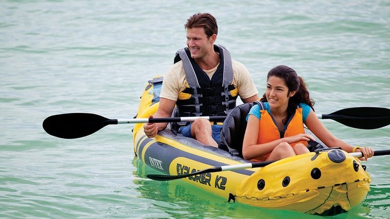 Even Apartment Dwellers Have Space For This $65 Inflatable Kayak